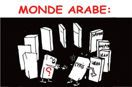 Monde arabe - Dessins et Caricatures, Jony-Mar - La voix de l'Oranie - Gagdz.com