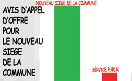 Avis d'appel d'offre pour le nouveau siège de la commune - Jony-Mar - La voix de l'Oranie - Gagdz.com