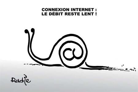 Connexion internet: Le débit reste lent - Algérie télécom - Gagdz.com