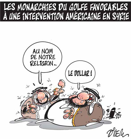 Les monarchies du golfe favorables à une intervention américaine en Syrie - Intervention - Gagdz.com