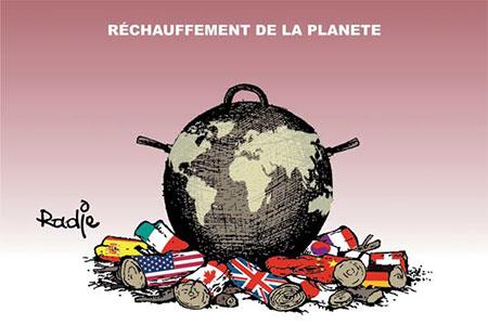 Réchauffement de la planète - planète - Gagdz.com