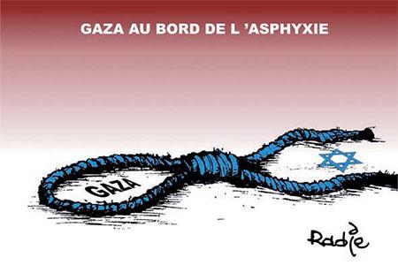 Gaza au bord de l'asphyxie - Gaza - Gagdz.com
