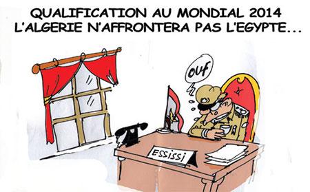 Qualification au mondial 2014: L'Algérie n'affrontera pas l'Egypte - qualification - Gagdz.com