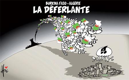 Burkina Faso-Algérie: La déferlante - Burkina - Gagdz.com