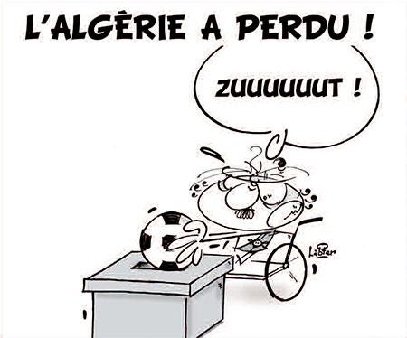 L'Algérie a perdu - Dessins et Caricatures, Vitamine - Le Soir d'Algérie - Gagdz.com