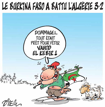 Le Burkina Faso a battu l'Algérie 3-2 - Burkina - Gagdz.com