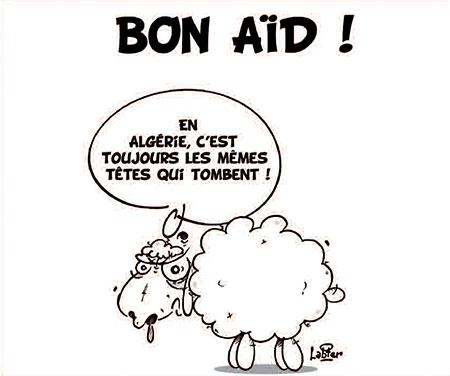 Bon aïd - Dessins et Caricatures, Vitamine - Le Soir d'Algérie - Gagdz.com