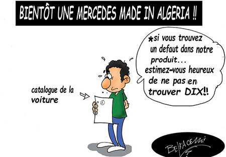 Bientôt une Mercedes made in Algeria - Made in Algeria - Gagdz.com