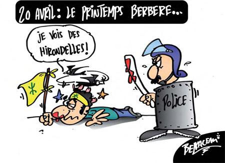 20 Avril : Le printemps berbère - Belkacem - Le Courrier d'Algérie - Gagdz.com