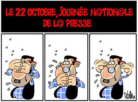 Le 22 octobre, journée nationale de la presse - Dessins et Caricatures, Islem - Le Temps d'Algérie - Gagdz.com