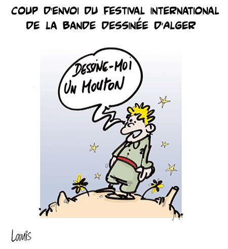 Coup d'envoi du festival international de la bande dessinée d'Alger - Festival - Gagdz.com