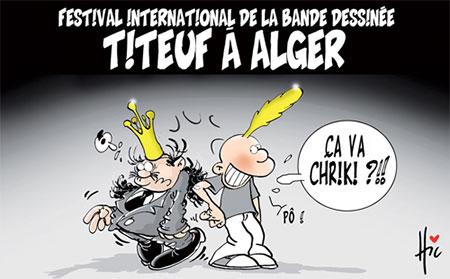 Titeuf à Alger - Dessins et Caricatures, Le Hic - El Watan - Gagdz.com