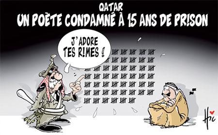 Qatar: Un poète condamné à 15 ans de prison - Dessins et Caricatures, Le Hic - El Watan - Gagdz.com