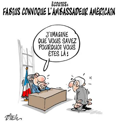 Écoutes USA : Laurent Fabius convoque l'ambassadeur américain - Fabius - Gagdz.com