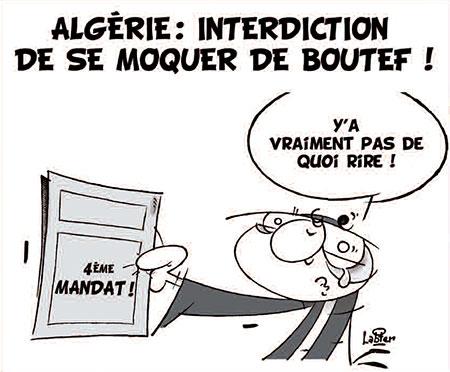 Algérie: Interdiction de se moquer de Boutef - Dessins et Caricatures, Vitamine - Le Soir d'Algérie - Gagdz.com