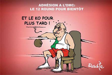 Adhésion à l'omc: le 12e round pour bientôt - Dessins et Caricatures, Ghir Hak - Les Débats - Gagdz.com