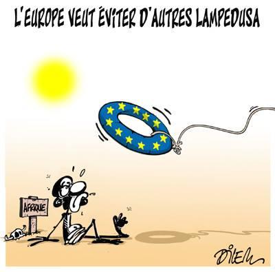 L'Europe veut éviter d'autres Lampedusa  - immigration - Gagdz.com