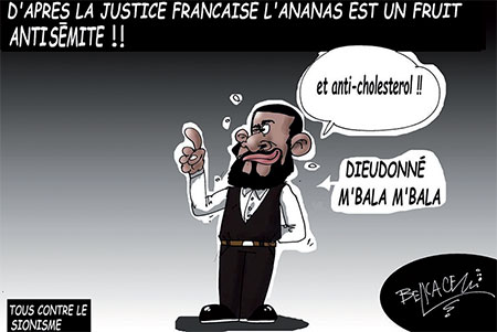 D'après la justice française l'ananas est un fruit antisémite - justice - Gagdz.com