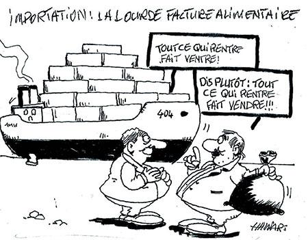 Importation: La lourde facture alimentaire - Hawari - La Tribune des Lecteurs - Gagdz.com