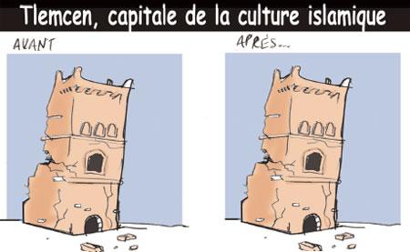 Tlemcen capitale de la culture islamique - Jony-Mar - La voix de l'Oranie - Gagdz.com