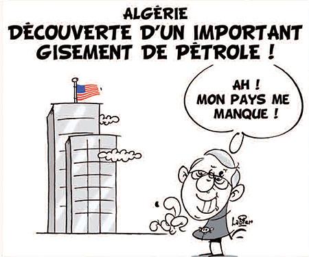 Algérie: Découverte d'un important gisement de pétrole - gisement - Gagdz.com