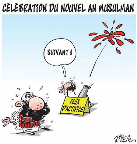 Célébration du nouvel an musulman - Dilem - Liberté - Gagdz.com