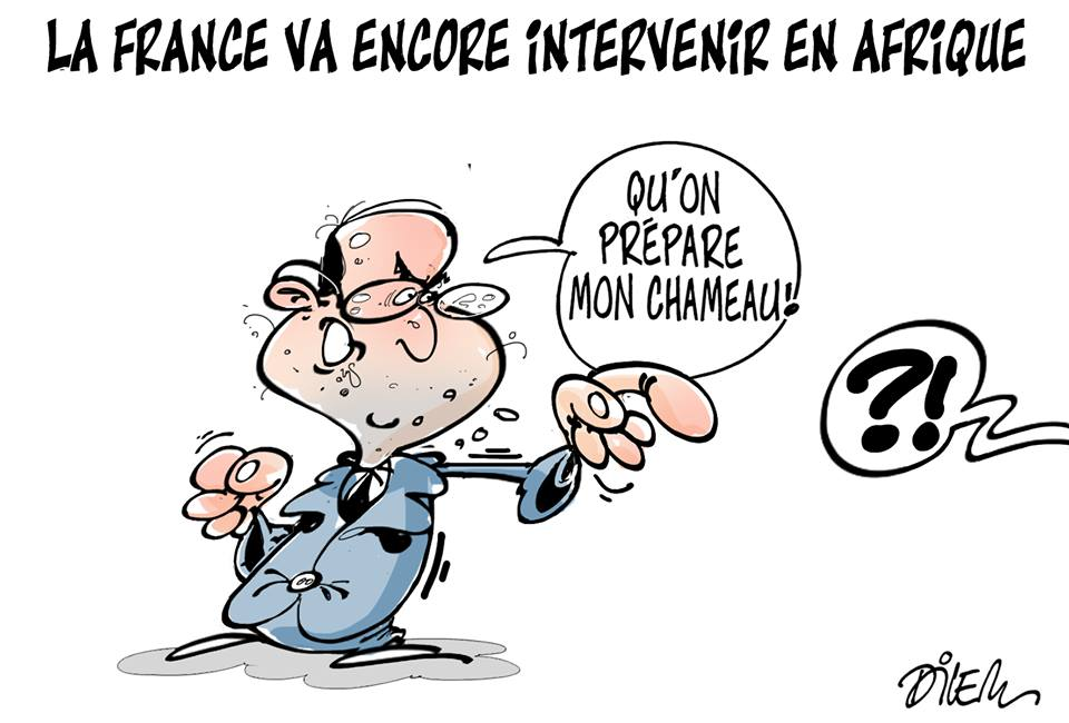 La France va encore intervenir en Europe - Dessins et Caricatures, Dilem - TV5 - Gagdz.com