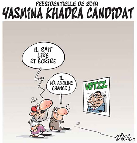 Yasmina Khadra candidat - Yasmina Khadra - Gagdz.com