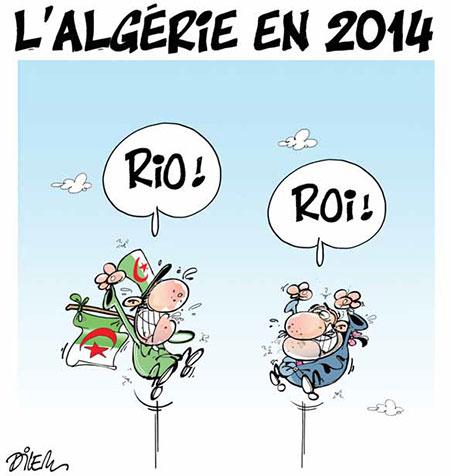 L'Algérie en 2014 - Dilem - Liberté - Gagdz.com