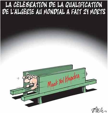 La célébration de la qualification de l'Algérie au mondial a fait 21 morts - qualification - Gagdz.com
