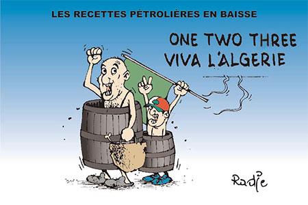 Les recettes pétrolières en baisse - Ghir Hak - Les Débats - Gagdz.com