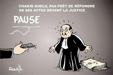Chakib Khelil pas prêt de répondre de ses actes devant la justice - devant - Gagdz.com