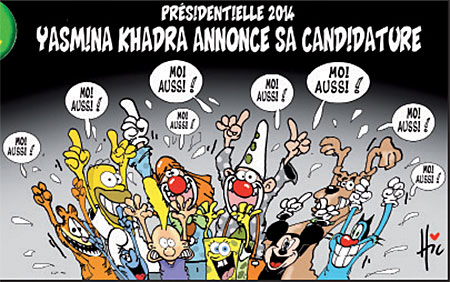 Yasmina Khadra annocera sa candidature - Yasmina Khadra - Gagdz.com
