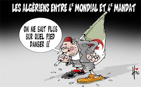 Les Algériens entre 4e mondial et 4e mandat - Le Hic - El Watan - Gagdz.com