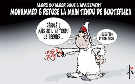Mohammed 6 refuse la main tendu de Bouteflika - refuse - Gagdz.com