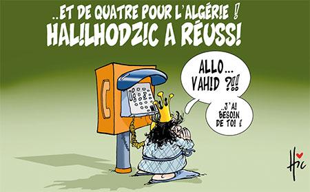 Halilihodzic a réussi - Le Hic - El Watan - Gagdz.com