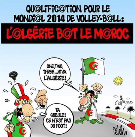 Volley-ball: L'Algérie bar le Maroc - Islem - Le Temps d'Algérie - Gagdz.com