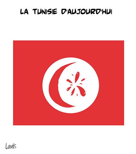 La Tunisie d'aujourd'hui - Lounis Le jour d'Algérie - Gagdz.com