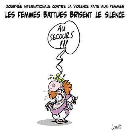 Les femmes battues brisent le silence - Lounis Le jour d'Algérie - Gagdz.com