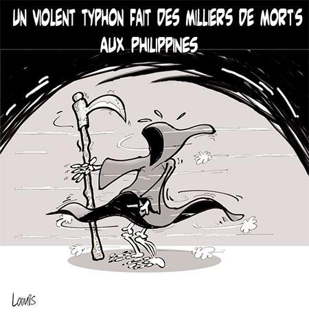 Un violent typhon fait des milliers morts aux Philippines - Lounis Le jour d'Algérie - Gagdz.com