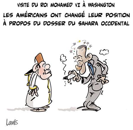 Les Américains ont changé leur position à propos du dossier du Sahara Occidental - Lounis Le jour d'Algérie - Gagdz.com