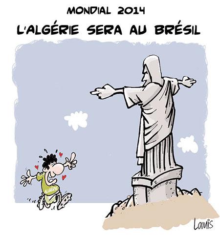 L'Algérie sera au Brésil - Lounis Le jour d'Algérie - Gagdz.com