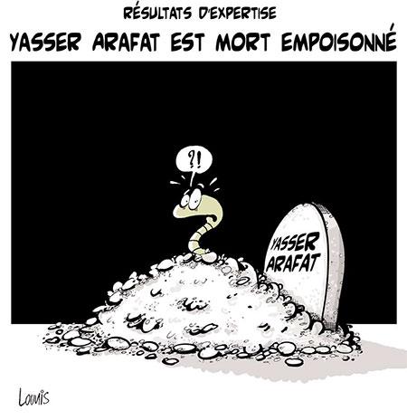 Yasser Arafat est mort empoisonné - Lounis Le jour d'Algérie - Gagdz.com