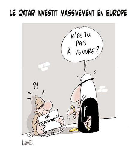Le Qatar investit massivement en Europe - Lounis Le jour d'Algérie - Gagdz.com