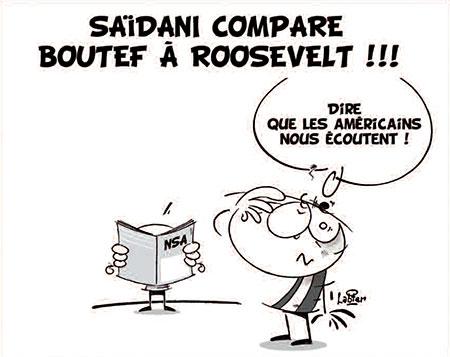 Saïdani compare Boutef à Roosevelt - Vitamine - Le Soir d'Algérie - Gagdz.com