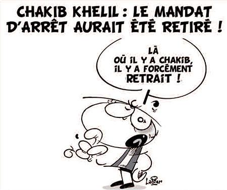 Chakib Khelil: Le mandat d'arrêt aurait été retiré - Vitamine - Le Soir d'Algérie - Gagdz.com