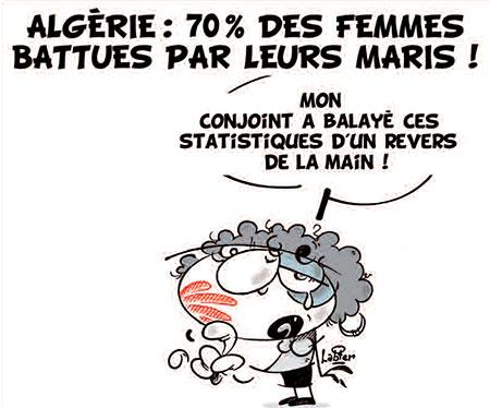 Algérie: 70% des femmes battues par leurs maris - Vitamine - Le Soir d'Algérie - Gagdz.com