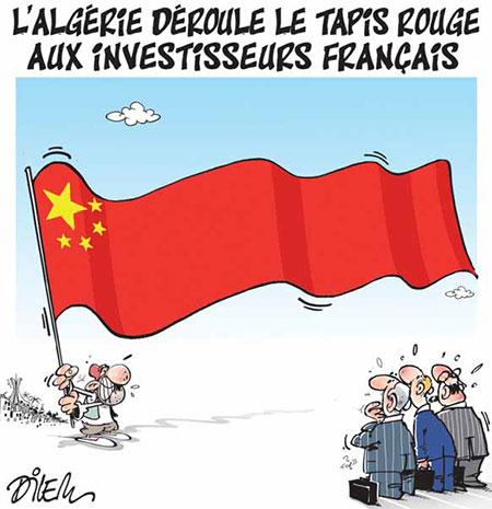 L'Algérie déroule le tapis rouge aux investisseurs français - Dilem - Liberté - Gagdz.com