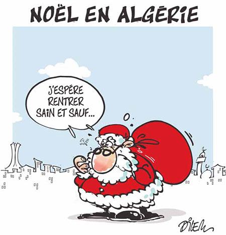 Noël en Algérie - Dilem - Liberté - Gagdz.com