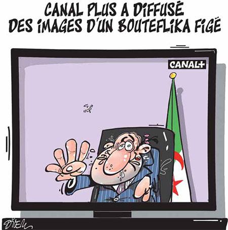 Canal plus a diffusé des images d'un Bouteflika figé - images - Gagdz.com